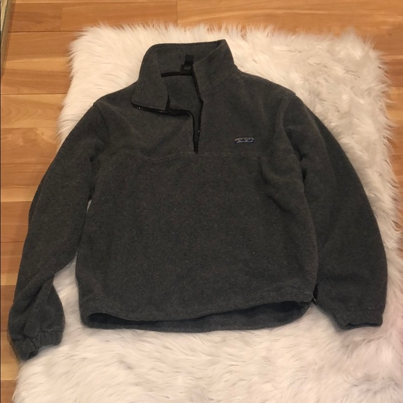 Fleece quarter-zip, size medium